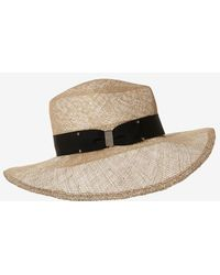 Eugenia Kim Ribbon Bow Straw Hat - Lyst
