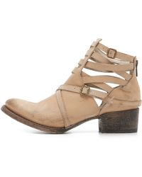 Freebird by Steven | Stair Booties - Taupe | Lyst