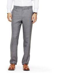 Club Monaco Wright Hopsack Suit Trouser - Lyst