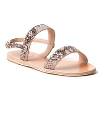 Ancient Greek Sandals Clio Python Sandal - Lyst