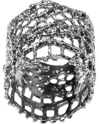 Aurelie Bidermann Vintage Lace Ring - Lyst
