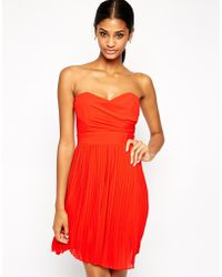 TFNC Prom Dress With Pleated Skirt - Lyst