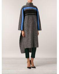 Tibi Cape Pullover Sweater - Lyst