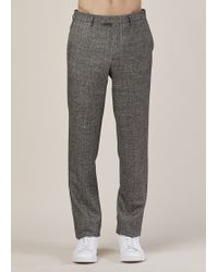 Raf Simons | Black/white Classic Pants | Lyst