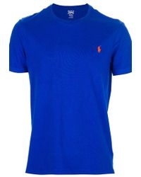 Ralph Lauren Blue Label T-Shirt - Lyst