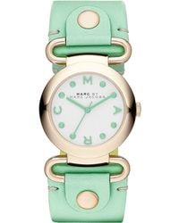 Marc By Marc Jacobs Ladies Molly Gold Tone Watch - Lyst