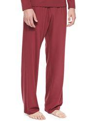 Derek Rose Basel Jersey Lounge Pants - Lyst