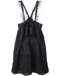 Isabel Marant Obira Mini Dress - Lyst
