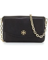 Tory Burch Mercer Classic Leather Crossbody Bag - Lyst