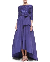 ESCADA Sequined Bow-Detailed Full-Skirt Gown - Lyst