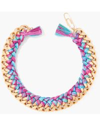 Aurelie Bidermann Positano Do Brasil Necklace - Lyst