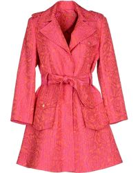 Alice + Olivia Full-Length Jacket pink - Lyst