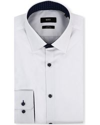 Hugo Boss Juri Slimfit Shirt White - Lyst