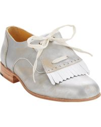 Esquivel Handpainted Kiltie Oxfords - Lyst