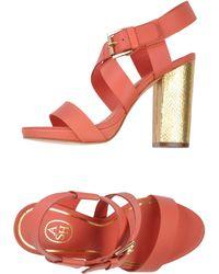 Ash Pink Sandals - Lyst