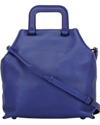 3.1 Phillip Lim Wednesday Trapezoid Tote - Lyst