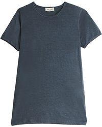 Paul & Joe Silk T-Shirt gray - Lyst