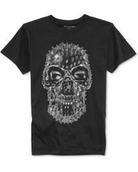 Rogue State - Spike Skull Graphic T-Shirt - Lyst