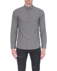 Diesel S-Kinop-K Cotton Shirt - For Men - Lyst