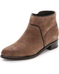 Rag & Bone Aston Boots Taupe - Lyst