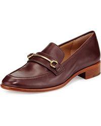 Vc Signature Fredrica Leather Bit Loafer - Lyst
