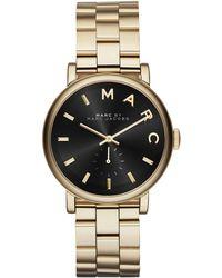 Marc By Marc Jacobs 36Mm Baker Bracelet Watch - Lyst