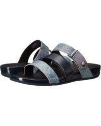 4aa0d5a622f1 Lyst - Fitflop Gladdie Open Toe Sandal in Black
