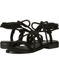 bf7a0a127e28 Lyst - Sol Sana Selma Gladiator Sandal in Black