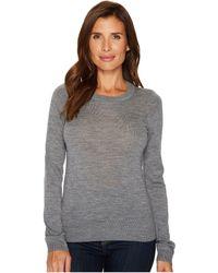 Lacoste - Crew Neck Wool Sweater - Lyst