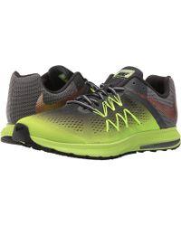 2218b16f63d9 Lyst - Nike Air Zoom Pegasus 34 Shield Men s Running Shoe in Black ...