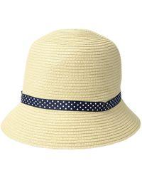 Lauren by Ralph Lauren - Packable Classic Cloche Hat - Lyst