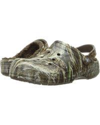 37e0d0649de8 Crocs™ - Winter Realtree Max5 Clog - Lyst