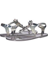 419b5ba9f8e1 Lyst - Kate Spade Fenton Slide Sandal in Metallic - Save 61%