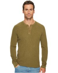 Lucky Brand | Lived In Thermal Henley | Lyst