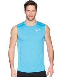 45784fb5ca628 Lyst - Nike Men s Court Dry Tennis Tank Top in White for Men