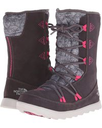 The North Face - Thermoballtm Apres Bootie (tnf Black/kokomo Green (prior Season)) Women's Cold Weather Boots - Lyst