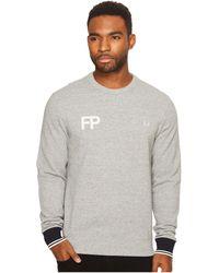 Fred Perry - Fp Logo Sweatshirt - Lyst