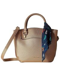 50e784ba3ec9b London Fog - Wembley Satchel (old Rose Metallic) Handbags - Lyst