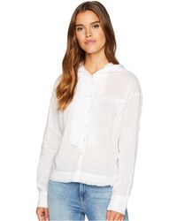 Free People - Breezy Button Down - Lyst