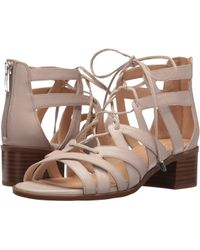 0607b954cb0 Lyst - Franco Sarto Ocean Strappy Sandals in Natural