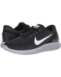 90507a62be3 Lyst - Nike Lunarglide 8 Shield in Gray for Men