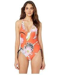 11708b3941 Trina Turk - Shangri La Maillot One-piece (flame) Swimsuits One Piece -