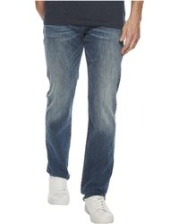7 For All Mankind - Luxe Performance Standard Straight In Bedrock - Lyst