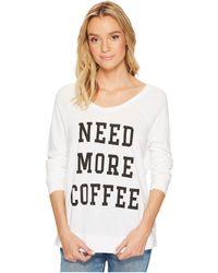 The Original Retro Brand - Need More Coffee Quad Pullover - Lyst