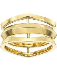 Michael Kors - Tone Open Ring - Lyst