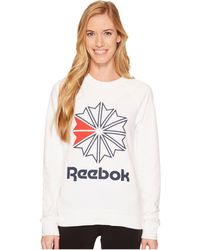 Reebok - Starcrest Crew Neck (black) Women's T Shirt - Lyst