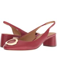 fc71c3c9e Lyst - Tory Burch Claremont Mid-Heel Wedge in Black