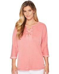 Jag Jeans - Debbie Lace-up Shirt - Lyst