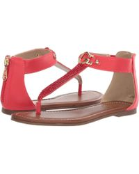 824fc5b4aa72 Lyst - G by Guess Keeny Lace-up Platform Espadrille Sandals