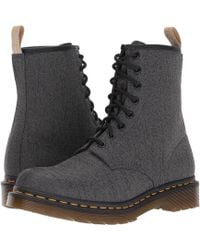 Dr. Martens - Vegan Castel 8-eye Boot - Lyst